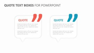 Quotes powerpoint template pslides charity powerpoint template quote text boxes for powerpoint toneelgroepblik Choice Image